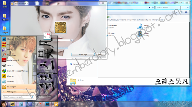 kris desktop full