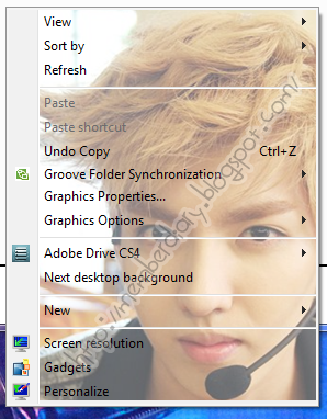 Update] Kris EXO theme for windows 7 | EXO SMTOWN | LOVE EXO 12