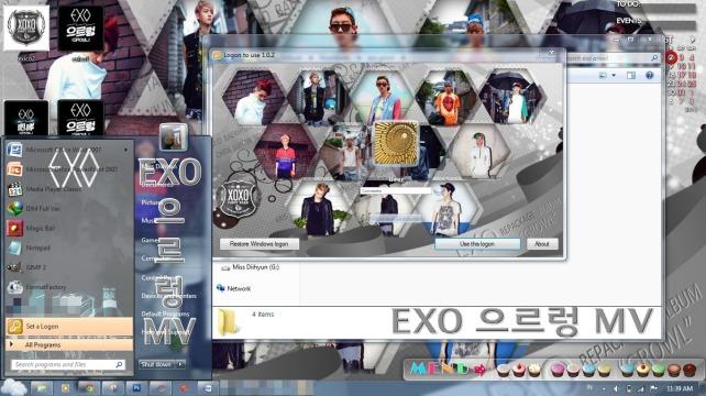 exo growl fullscreen